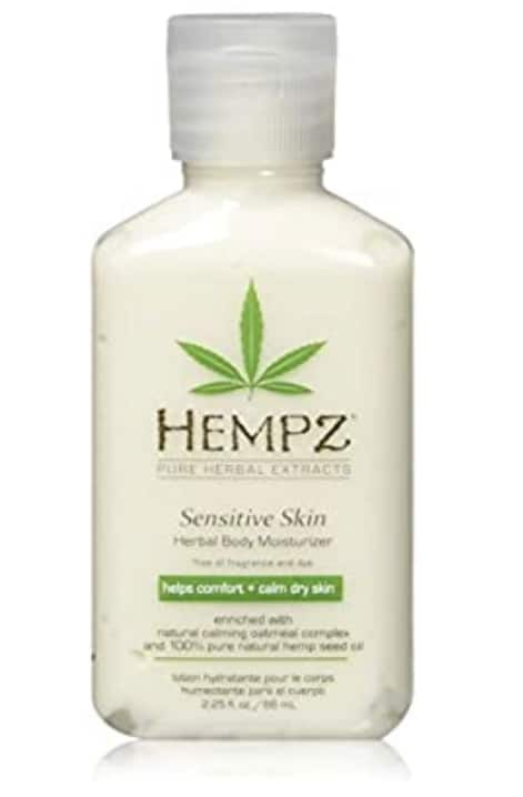 Amazon has 2.25 oz. Hempz Sensitive Skin Herbal Body Moisturizer with Oatmeal, Shea Butter for Women and Men for $2.49 with Subscribe and Save