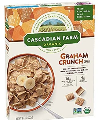 Amazon has 9.6 oz Cascadian Farm Organic Graham Crunch Cereal Box for $2.25 with S&S