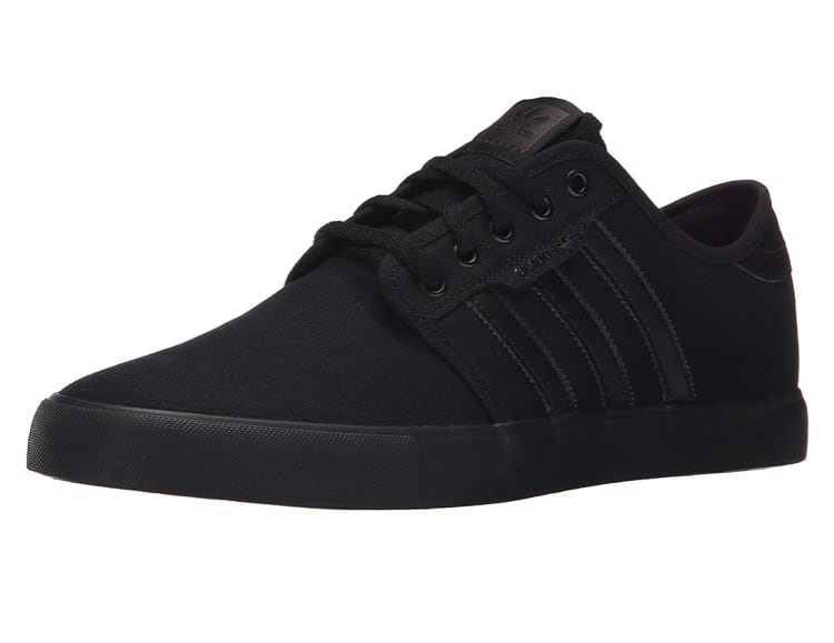 Amazon has adidas Men's Seeley Skate Shoe Black colour $33