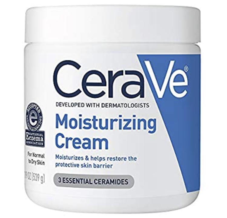 19 Oz CeraVe Moisturizing Cream for Normal to Dry Skin |  Fragrance Free $13.25