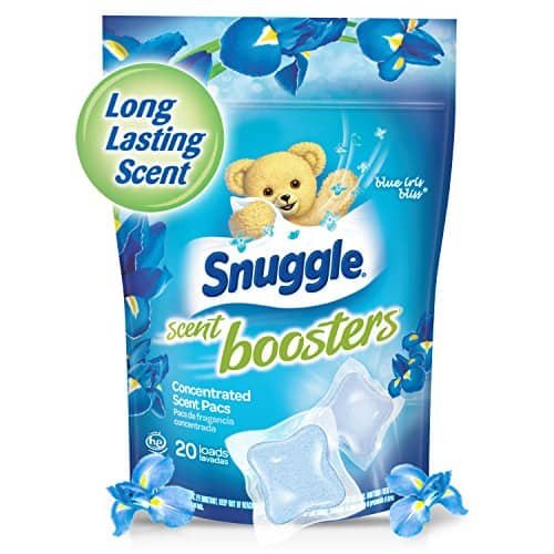 Snuggle Laundry Scent Boosters Concentrated Scent Pacs, Blue Iris Bliss, Pouch, 20 Count [Blue Iris Bliss] $3.05
