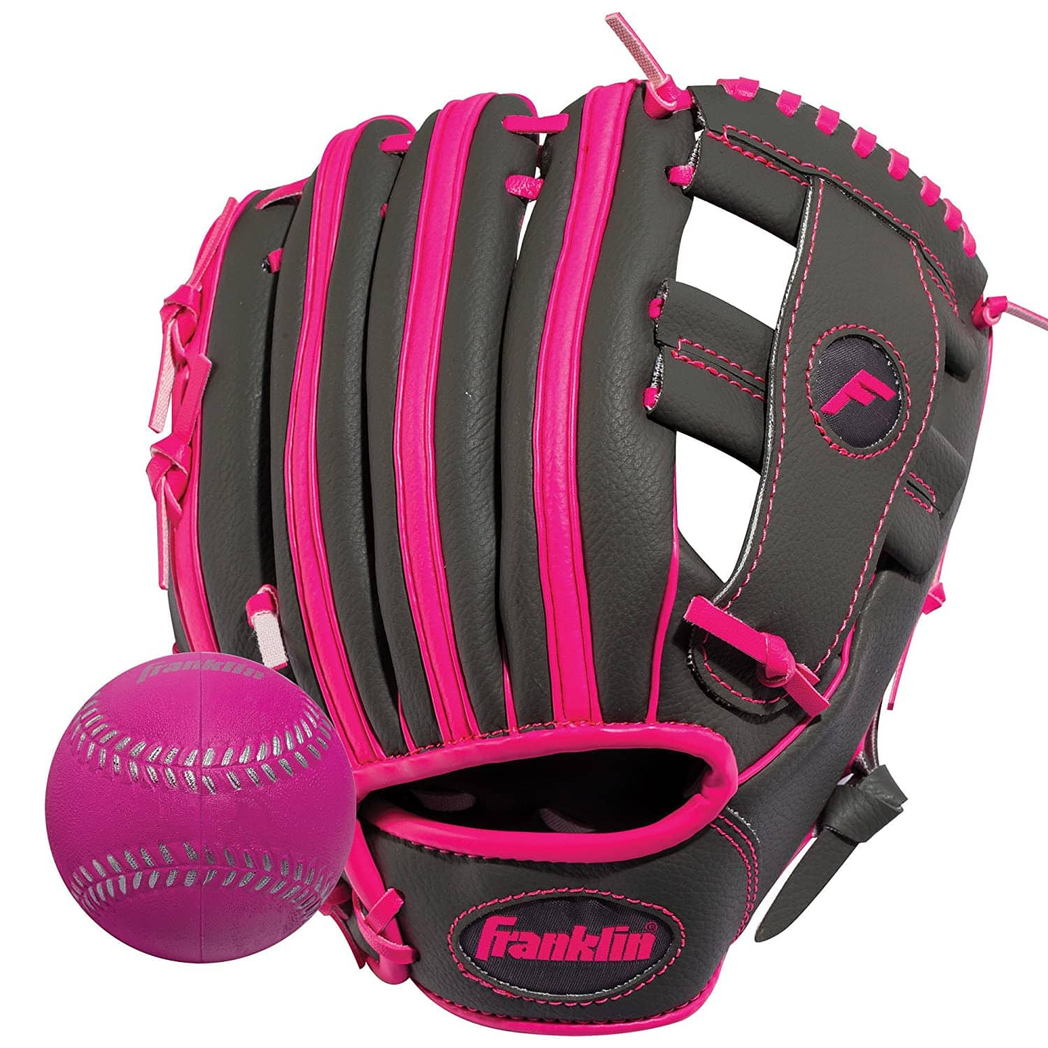 Franklin Sports Teeball Glove - Youth Fielding Glove - Synthetic Leather Baseball Glove -Righthand $9.99 & Lefthand thrower for $10.99