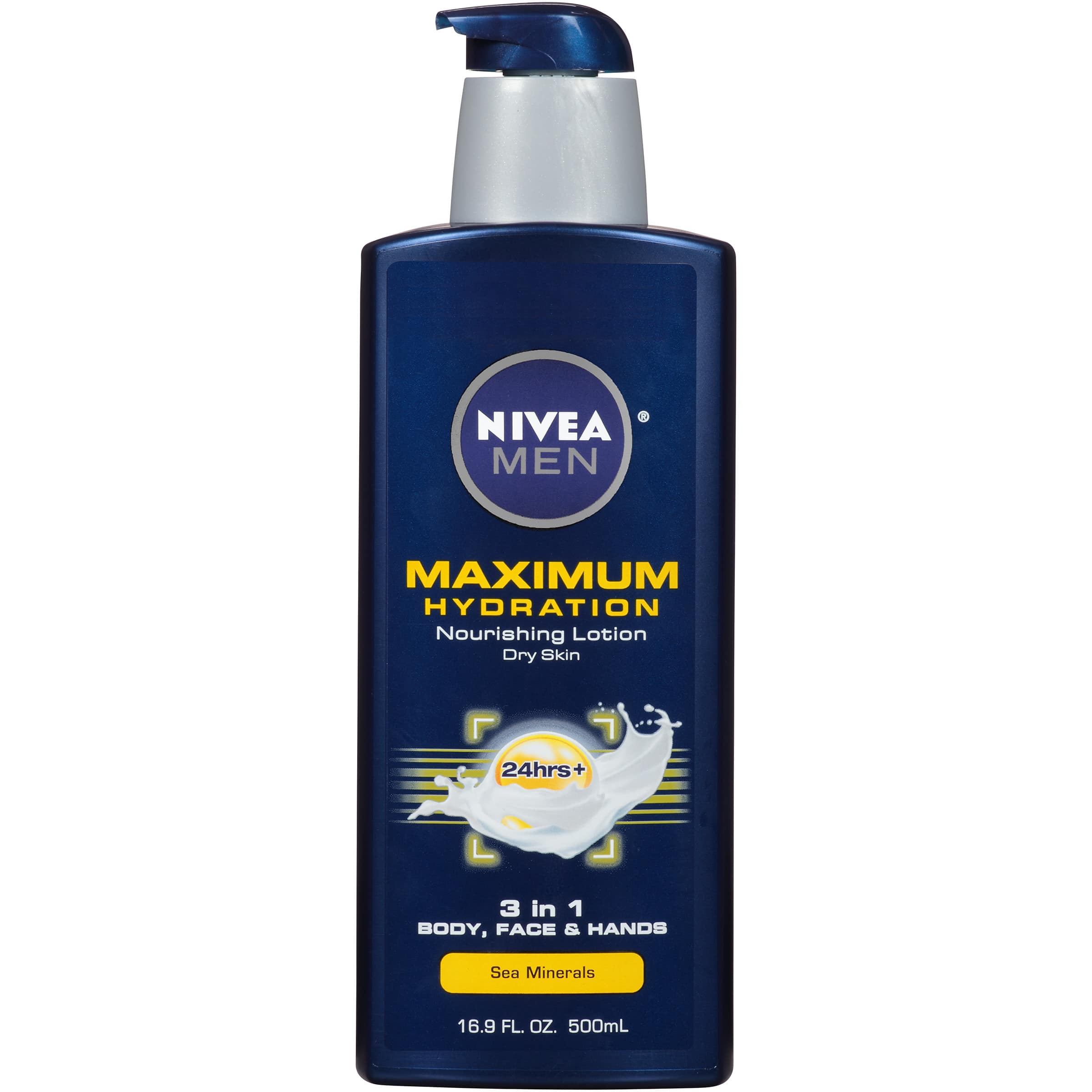 2 Quantity of NIVEA Men Maximum Hydration 3 in 1 Nourishing Lotion 16.9 fl. oz. $7.67 with S&S
