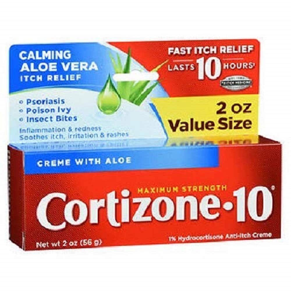 2 Quantity of Cortizone-10 Maximum Strength, 2 Ounce Box $7.82