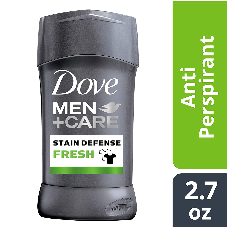 3 Quantity of 2.7 oz Dove Men+Care Stain Defense Antiperspirant Deodorant Stick, Fresh for $6.94 with S&S @ Amazon