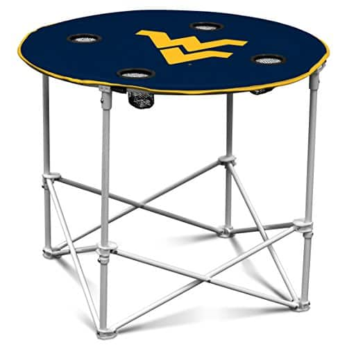 Logo Brands Officially Licensed NCAA Round Table, One Size [west-va-mountaineers] $17.99