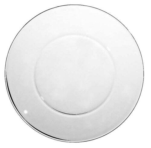12 count Anchor Hocking 10-Inch Presence Glass Dinner Plate, Set of 12 $15