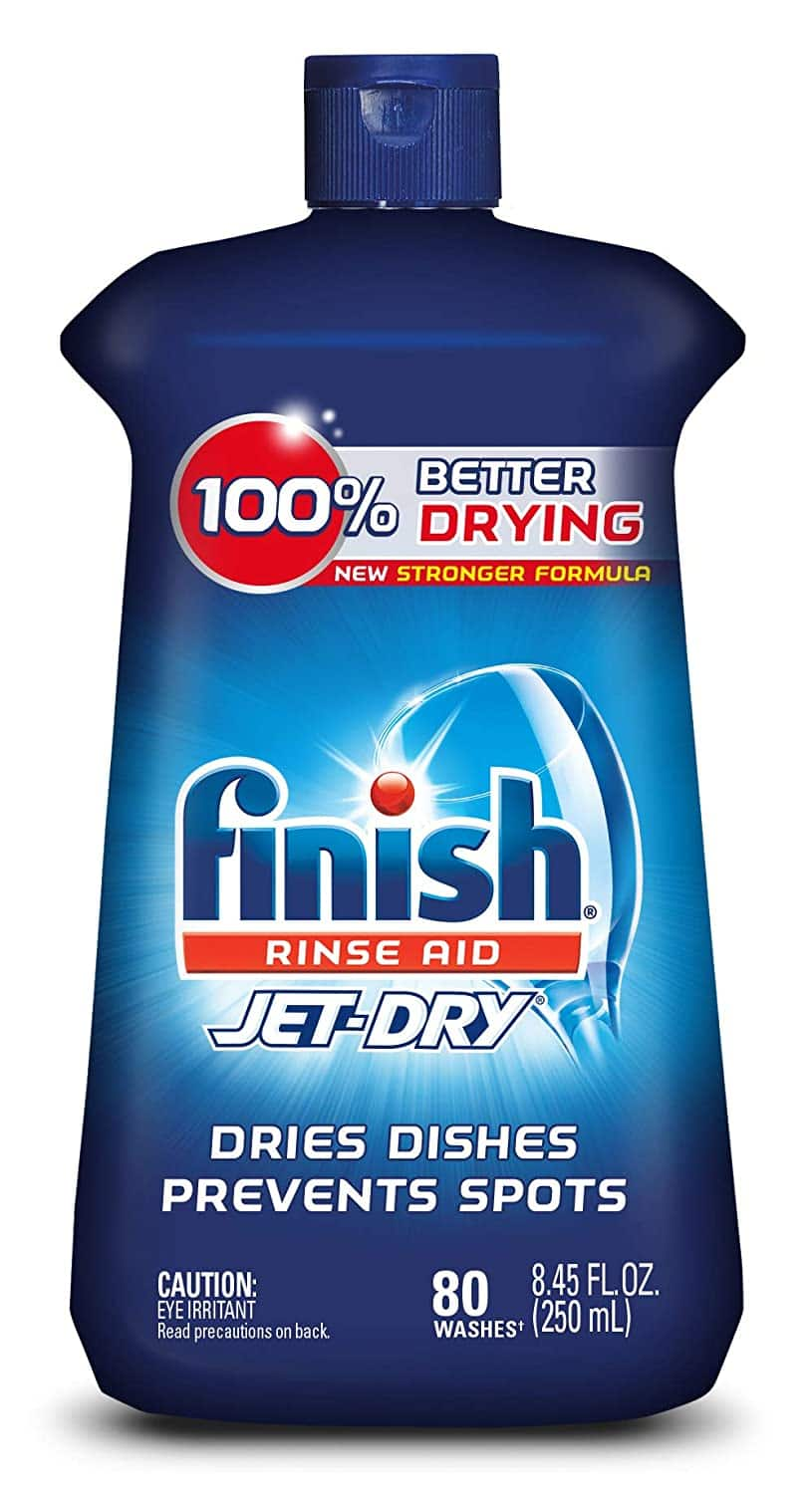 Finish Jet-Dry Rinse Aid, 8.45oz, Dishwasher Rinse Agent & Drying Agent $3.46