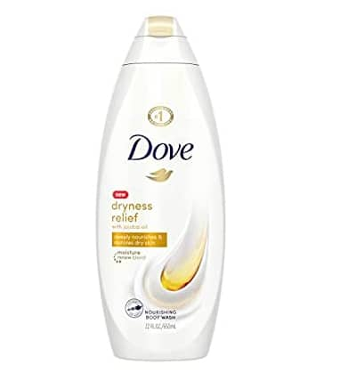 22 oz Dove Body Wash For Dry Skin Dryness Relief With Authentic Jojoba Oil $4.74