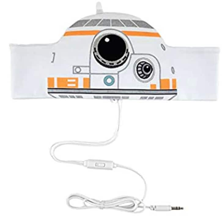 Star Wars Kids Headphones with Headband Parent Volume Limited with Ultra Thin Stereo Speakers & Super Soft Headband, Toddlers & Children'S Earphones for School, Home & Travel $7.13