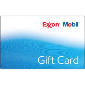 Exxon Mobil gas gift card $100 for $93 + free shipping