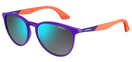 Women's Carrera Sunglasses Violet w/ Khaki Blue Mirror Lens Free S/H $24