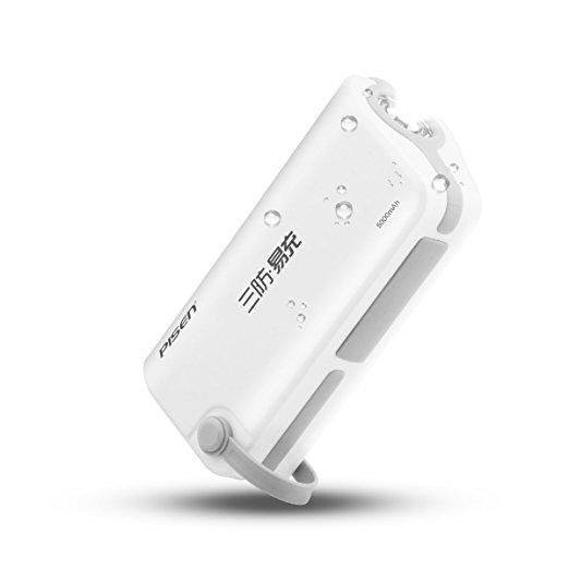 Waterproof Power Bank 5000mAh Multifunction Emergency Flashlight $9.99 a/c + free Prime shipping
