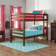 Better Homes & Gardens Twin Wood Bunk Bed/2 Twins, Light Cherry ONLY, $107 Walmart B&M YMMV
