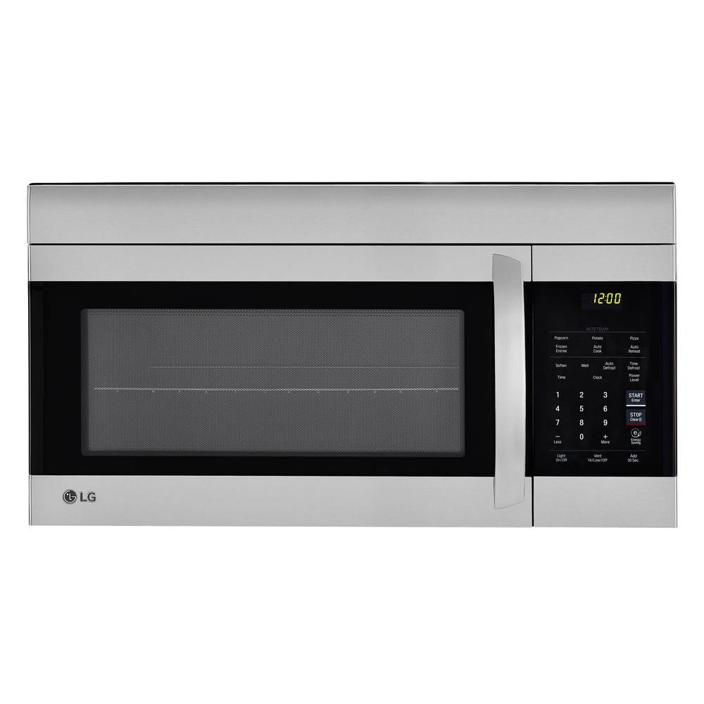 LG Over the Range Stainless Steel EasyClean 1.7cu ft LMV1762ST Microwave @ HomeDepot B&M $148