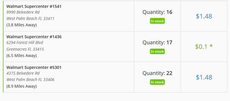 Gatorade Recover Whey Protein Bar on sale at Walmart .10c each (B&M)(YMMV) $0.1