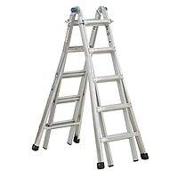 Home Depot Deal: 22 ft. Aluminum Telescoping Multi-position Ladder with 300 lb. Load Capacity Type IA Duty Rating $125 free ship - now live at Homedepot.com