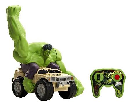 Avengers: XPV Marvel-RC Hulk Smash Toy Vehicle $17 + Free shipping