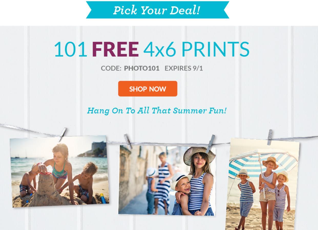 Swagbucks - York Photos - 101 Free photos and Earn 1250SB  + shipping  $5,  means  $7.5 MM