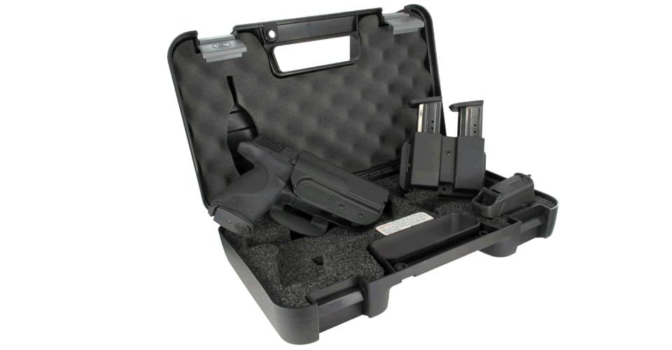 Gun: Smith and Wesson M&P Carry and Range Kit (.40 or 9mm) $469.99 shipped includes extra magazine and universal loader