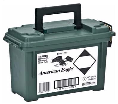 300rds American Eagle .45 ACP w/ ammo can $79.99 shipped after MIR
