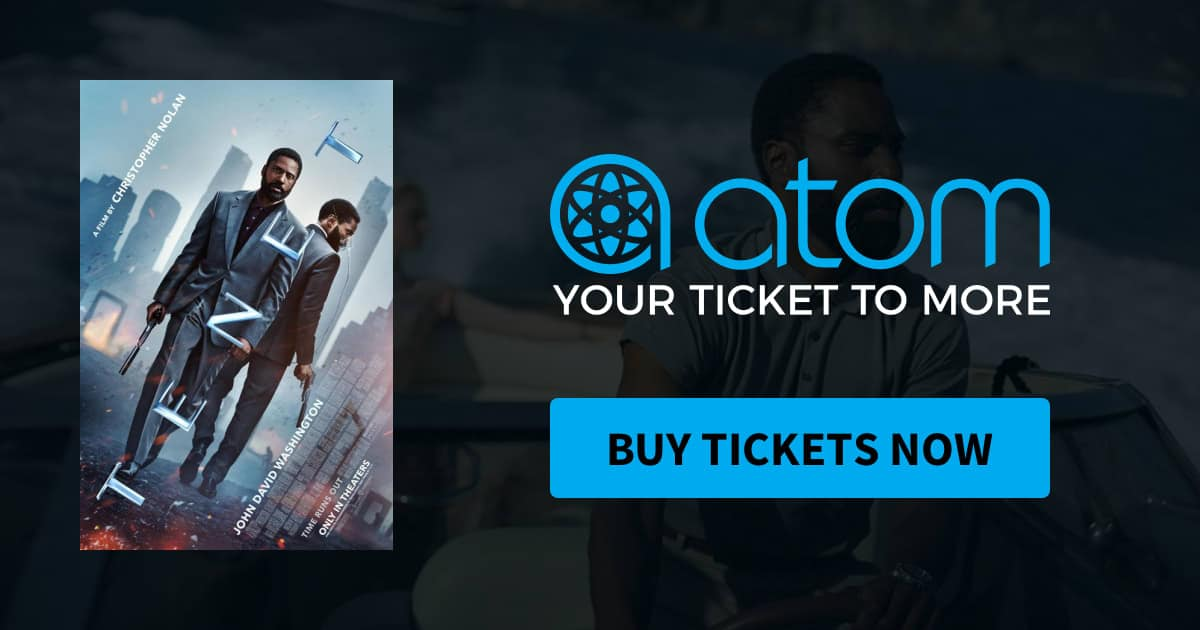 Atom Tickets: See Tenet for Free (very limited)