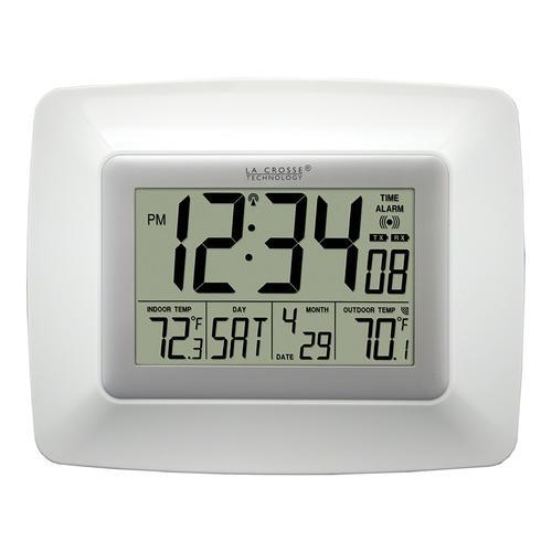 La Crosse Technology Atomic Digital Wall Clock at Menards B&M, $10.67 after 11% MIR YMMV