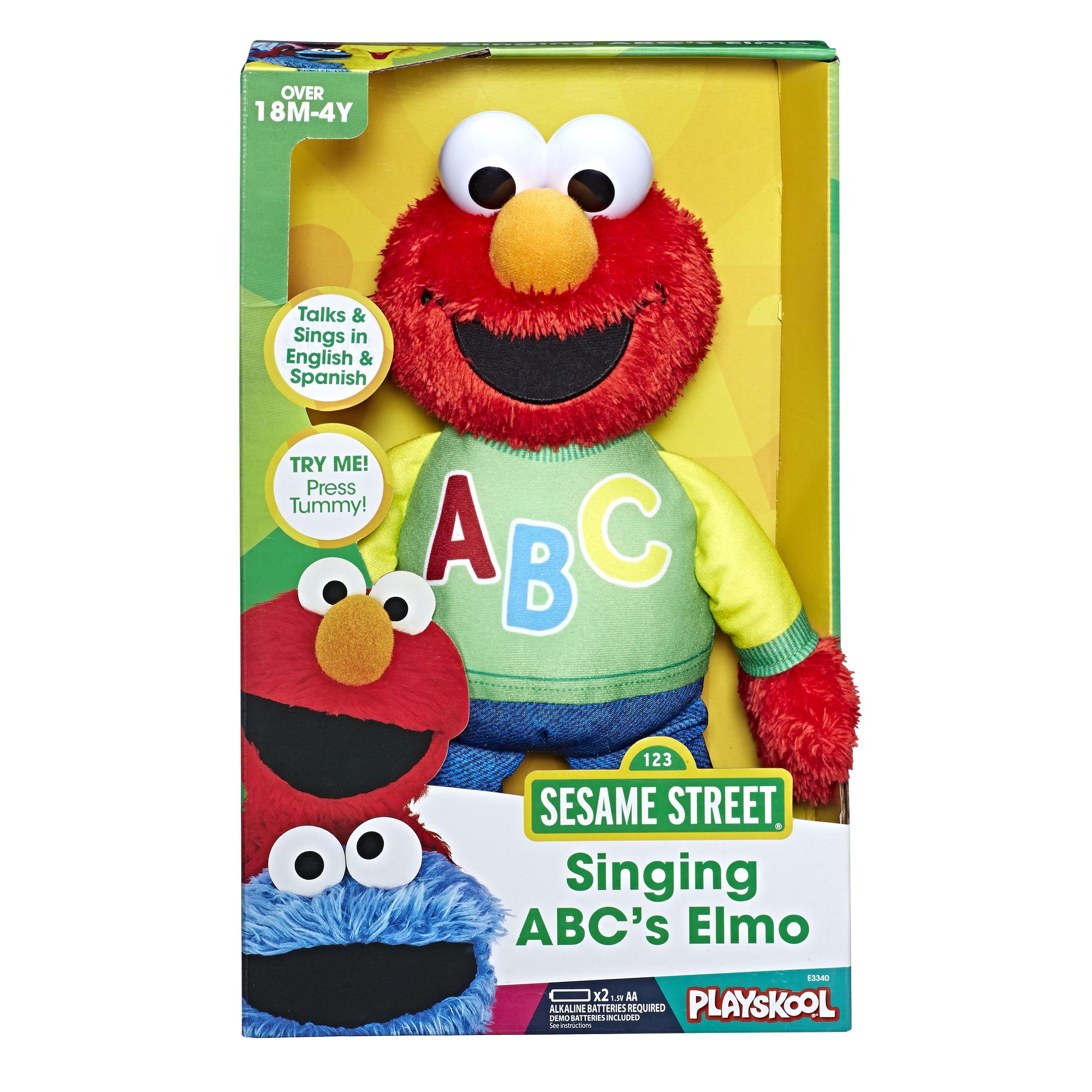 Playskool Sesame Street Singing ABC's Elmo @ Walmart B&M YMMV $5