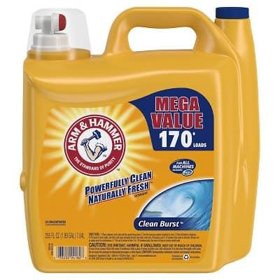 Arm & Hammer Clean Breeze Laundry Detergents 255 fl oz (x3) in-store pickup $26