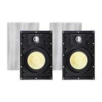 Monoprice Caliber Snap Lock In-Wall Speakers, 6.5in Fiber 2-Way (pair): $35 + Free Shipping