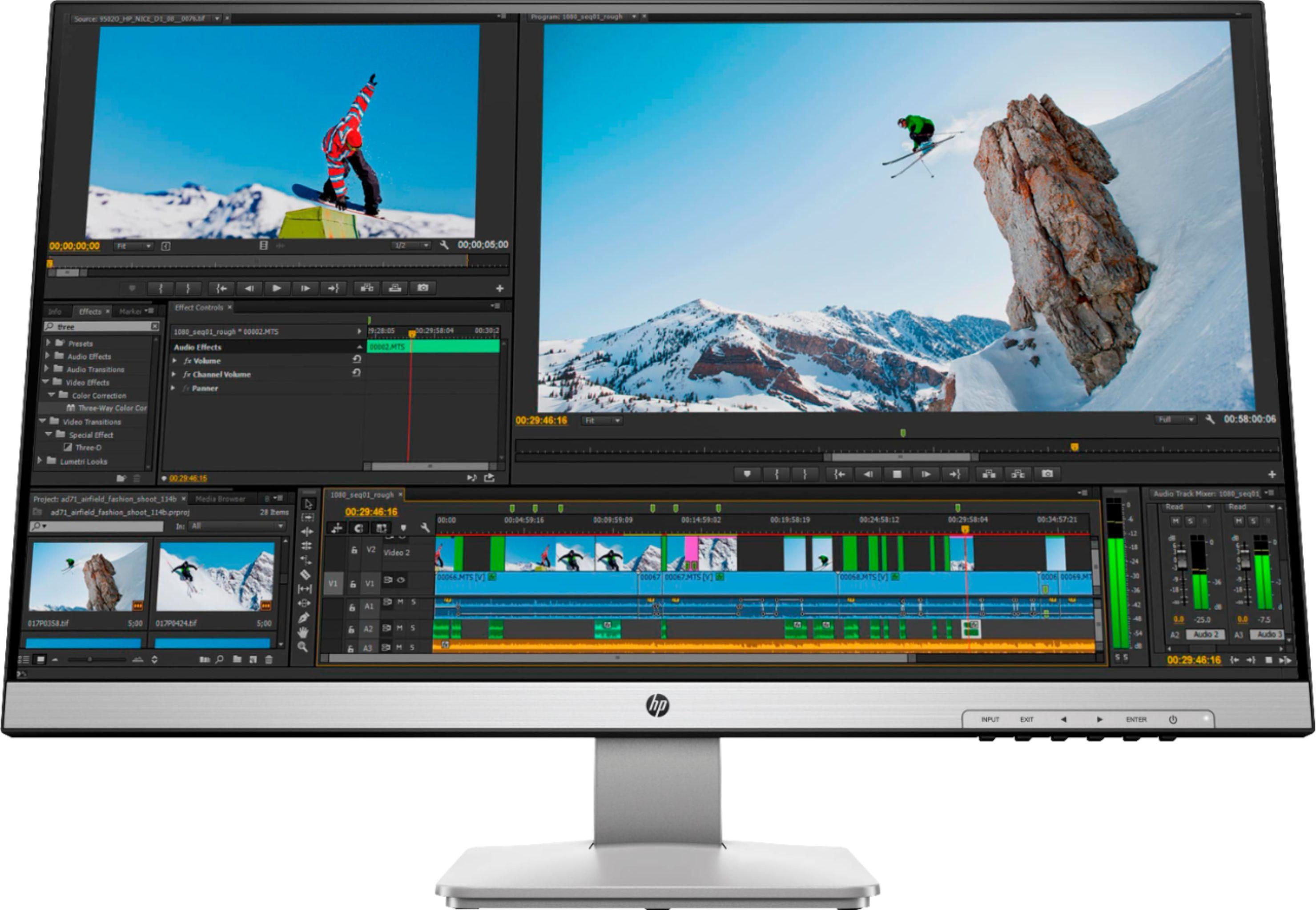 HP - 27q 27inch LED QHD Monitor $189.99 + Free Shipping @ Best Buy