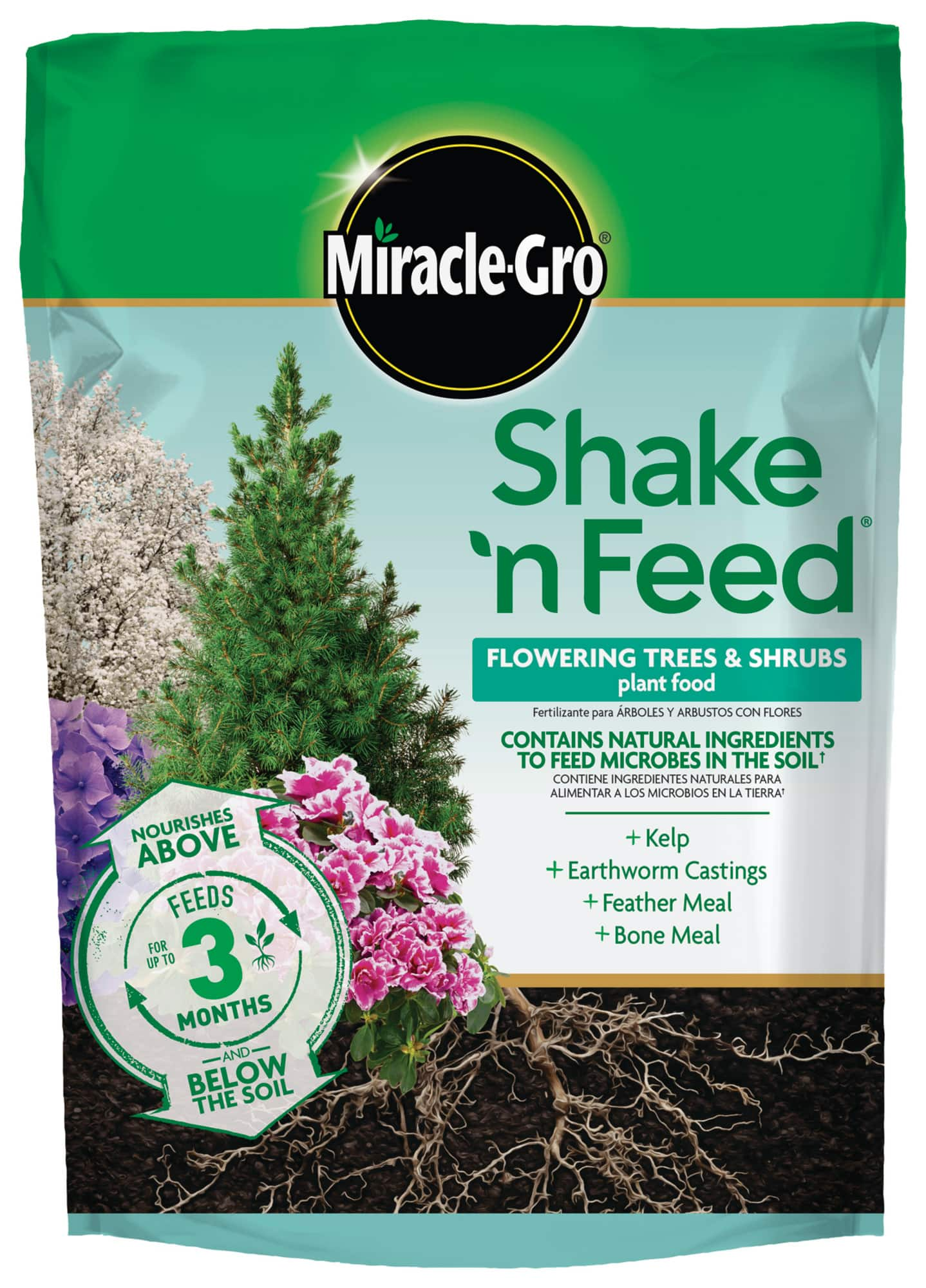 Miracle Gro Shake 'N Feed Flowering Trees and Shrubs Plant Food, 8 lb. 85% off: $4.60 @ Walmart B&M YMMY