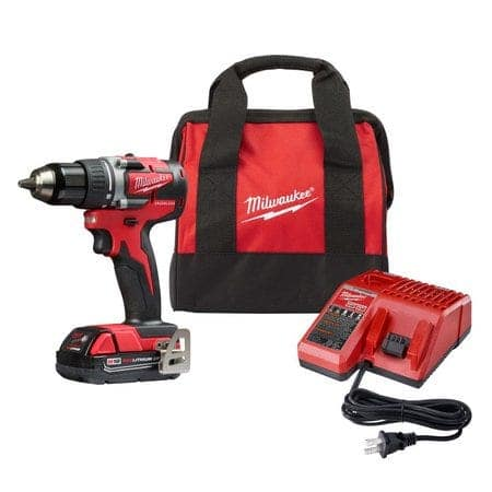 Milwaukee 2801-21P Compact Cordless Drill Driver $87.12