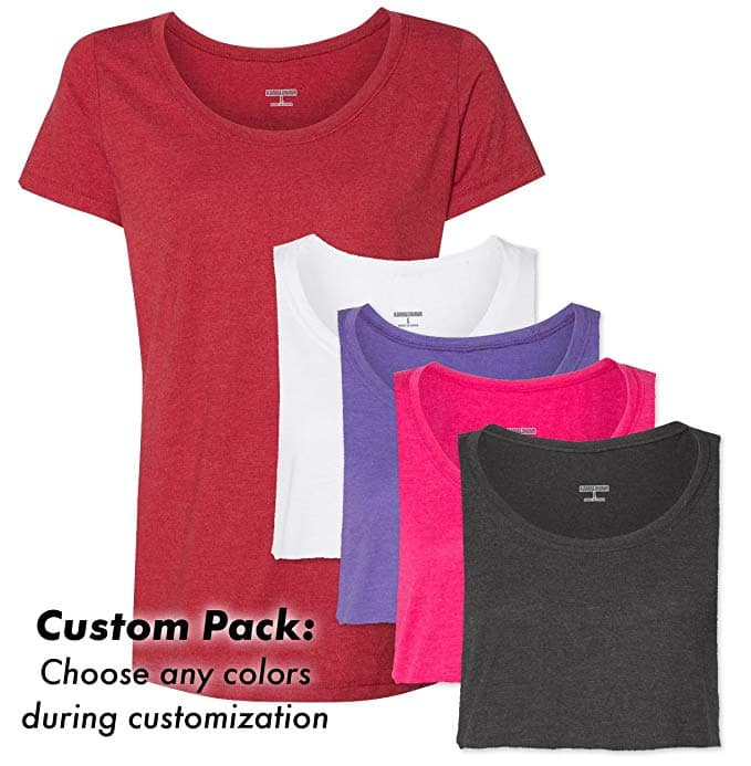 $15.00 Off coupon for a new KAMAL OHAVA modal 5 pack of t shirts for women $47.96