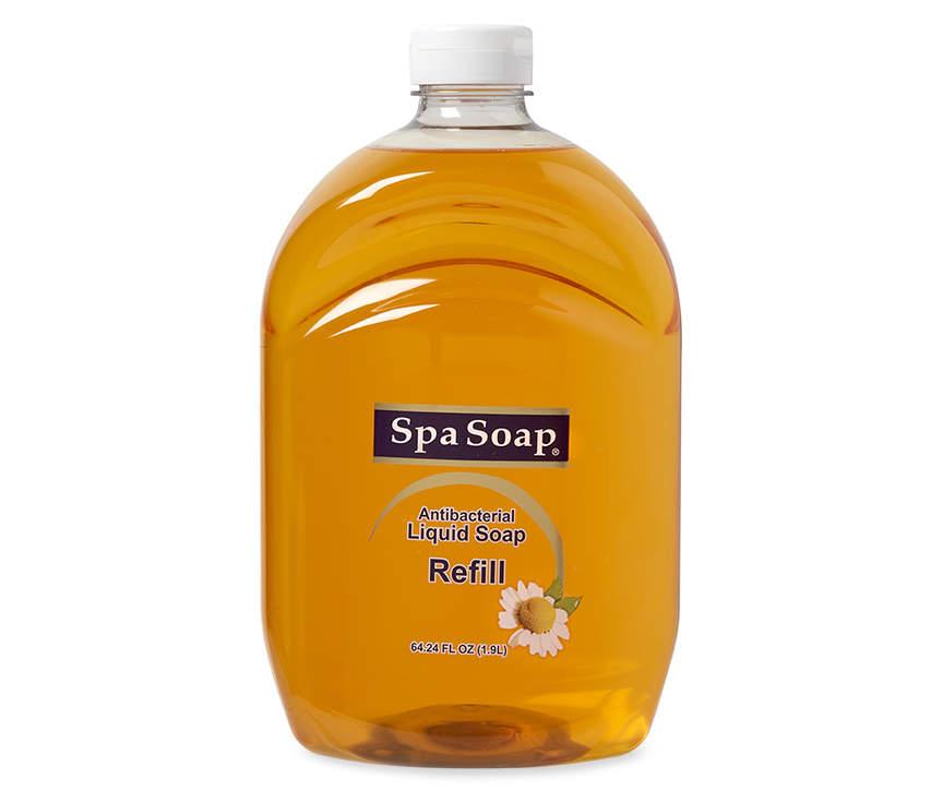 Spa Soap Liquid Soap Refill, 64.24 Fl. Oz. $2.50 at Big Lots