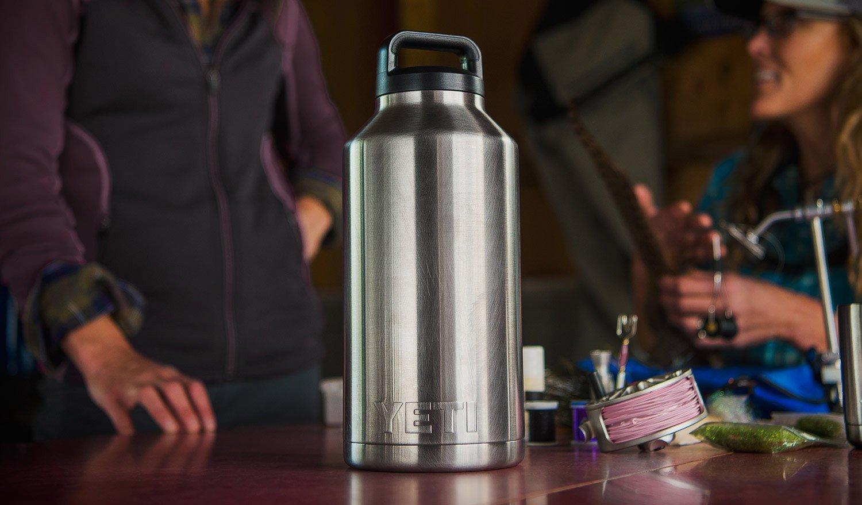 YETI Rambler Bottle - 64 oz., Stainless Steel $40