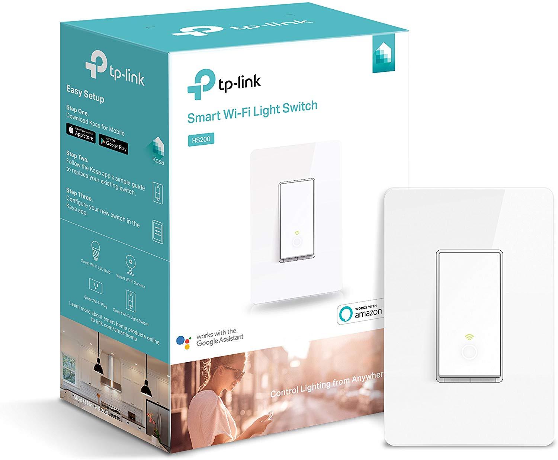 TP-LINK Kasa Smart Wi-Fi Light Switch $21.79 AC + Free shipping