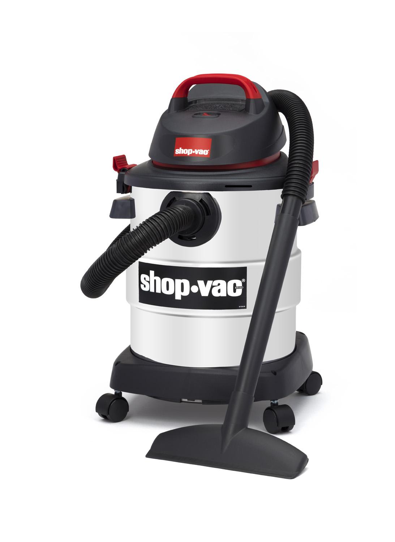 Shop-Vac 6 Gallon 4.5 Peak HP Stainless Steel Wet/Dry Vacuum and 2-Piece Bonus Accessory Kit - $20 @ walmart with free store pickup. - YMMV