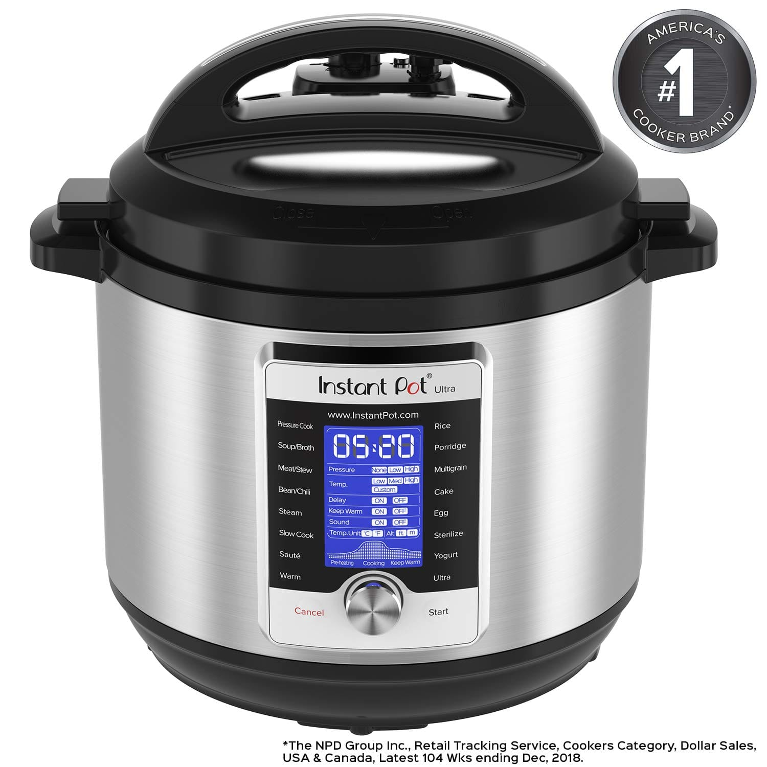 Amazon: Instant Pot Ultra 8 Qt 10-in-1 $110 (Lowest Price on