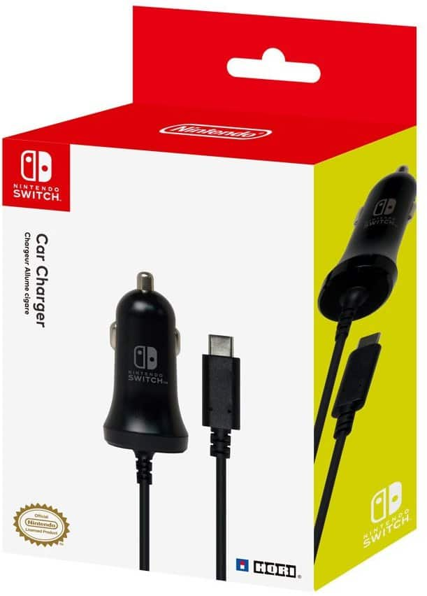 Nintendo Switch High Speed Car Charger by HORI Officially Licensed by Nintendo 14.99 FS/w Prime