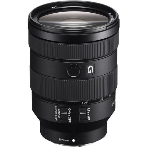 EDU Sony FE 24-105mm f/4 G OSS Lens - BH Photo $958.2