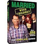 Married with Children Complete Series DVD $30 free shipping Bestbuy.com or B&M.
