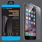 MagicGuardz Tempered Glass Screen Protector for Iphone 6 Plus $2.89 free Shipping Ebay