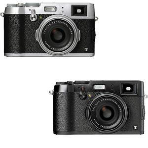 $799.99 Fujifilm X100T 16.3 MP Digital Camera (Black or Silver) - Ebay Daily Deals
