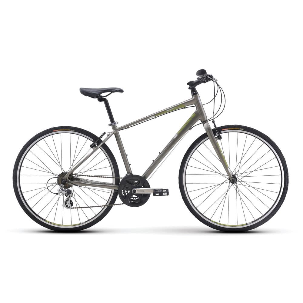 $243 Diamondback Insight 1 Performance Hybrid Bike Metallic Grey - Ebay