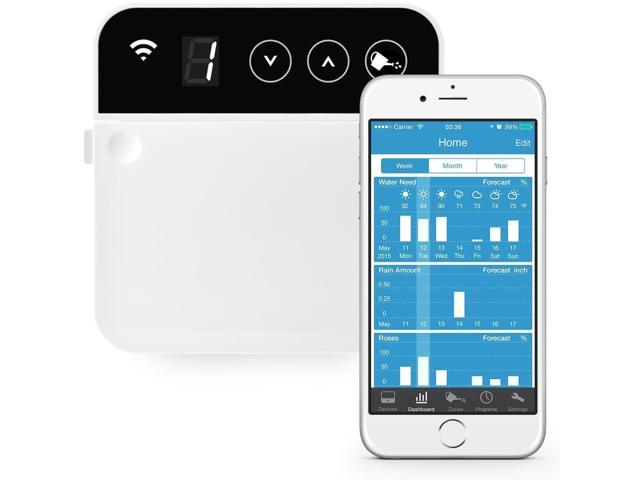 RainMachine Mini-8 2nd Gen Weather Aware Smart WiFi Irrigation Controller $119 w/ Masterpass Checkout + Free S&H