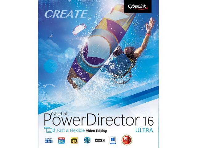 $35 CyberLink PowerDirector 16 Ultra - Newegg.com after CC