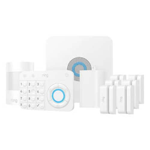 Ring Alarm Wireless 10-piece Security Kit + Ring Video Doorbell 2 with 12 Months Ring Protect Plus - Costco $330