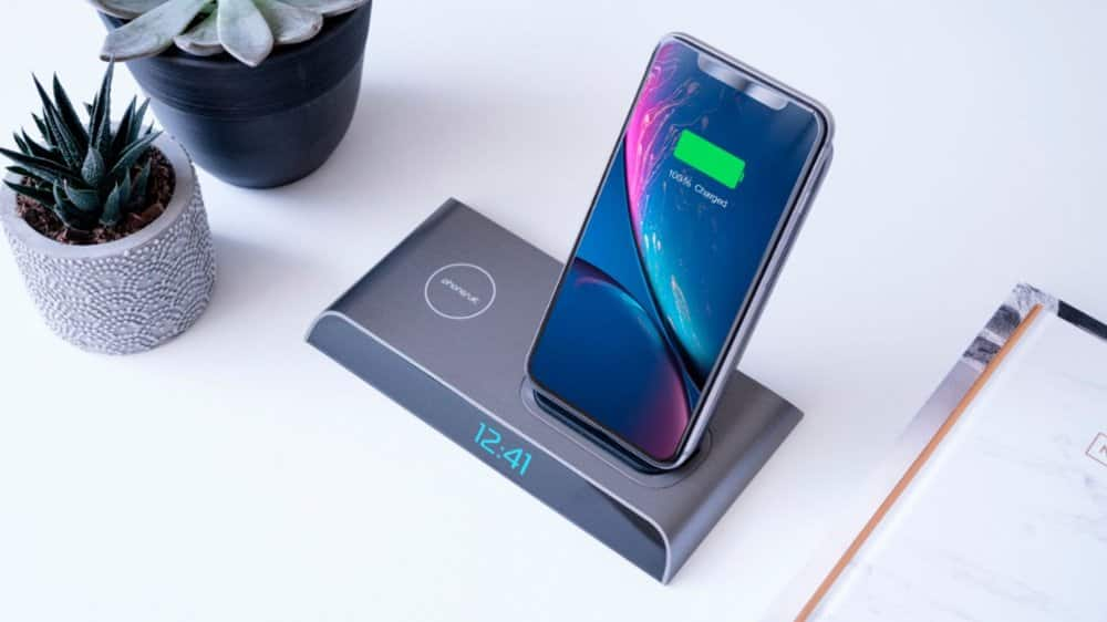 $60 PhoneSuit - Energy Core 18W Qi Certified Fast Charge Wireless Charging Pad for iPhone/Android - Best Buy