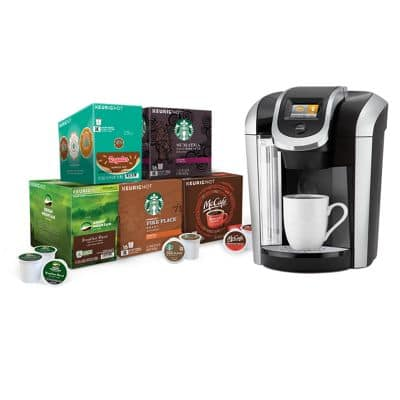 Keurig K475 Coffee Maker Starter Bundle for $99.00